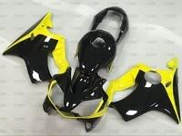 CBR 600 2002 Plastic Fairings CBR F4i 2001 2003 Yellow Black Fairings for Honda Cbr600 01 Body Kits