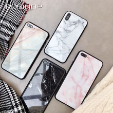 ROSINOP Anti-knock Marble Pattern Full Coverage Case For iphone x xs max xr Soft TPU 6s plus 8 7