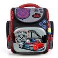 2016 новинка ортопедические школьные сумки для мальчиков с гоночными машинами, школьные рюкзаки Мочила для детей, водостойкая наплечная сумка для детей