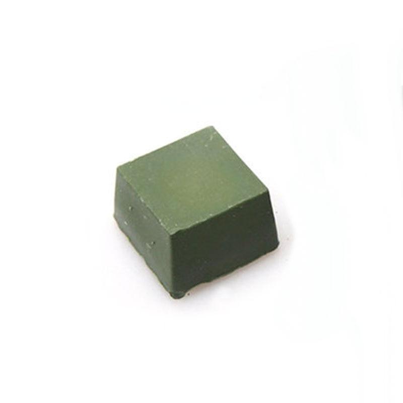 1 Piece Green Polishing Paste Alumina Fine Buff Polishing Compound Metal Jewelry Abrasive Paste Abrasives