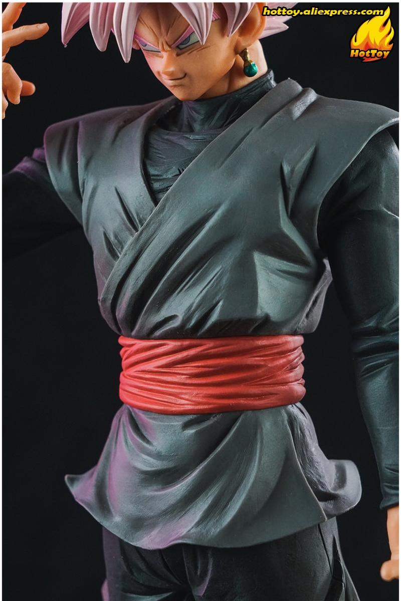 Original Banpresto Resolution of Soldiers Grandista Vol.3 Collection Figure - SUPER SAIYAN ROSE Gokou Black