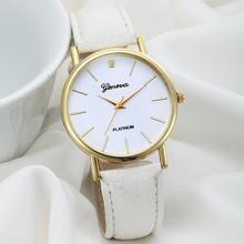 Ladies watch Female Watch Women's Fashion Design Dial Leather Band Analog Quartz Wrist Watch wristwatches Fashion Design JY27