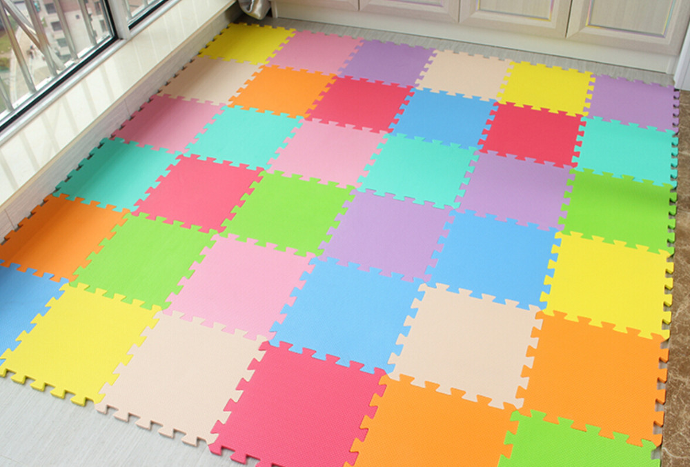 Foam Tegels Baby : Baby eva foam play puzzel mat of lot grijpende oefening