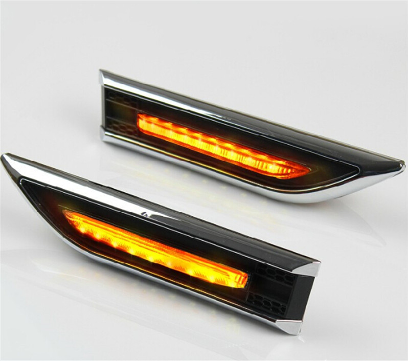 Car Accessories Led Lamp Led Turn Light Led Side Light Side Marker Turn Signal Lights For Chevrolet Cruze Sedan Hatchback 2Pcs citall 2pcs soft turn signal light 13 led car auto side door mirror light indicator for audi a4 bmw e90 nissan chevrolet cruze