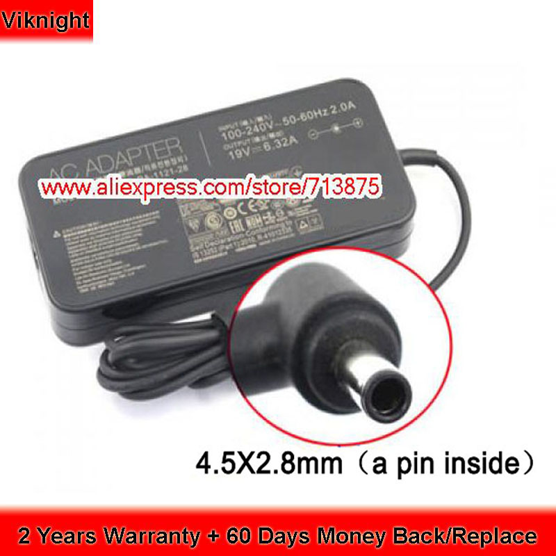 Power Supply 19V 6 32A PA 1121 18 Ac Adapter For Asus Rog UX501VW UX501J PA
