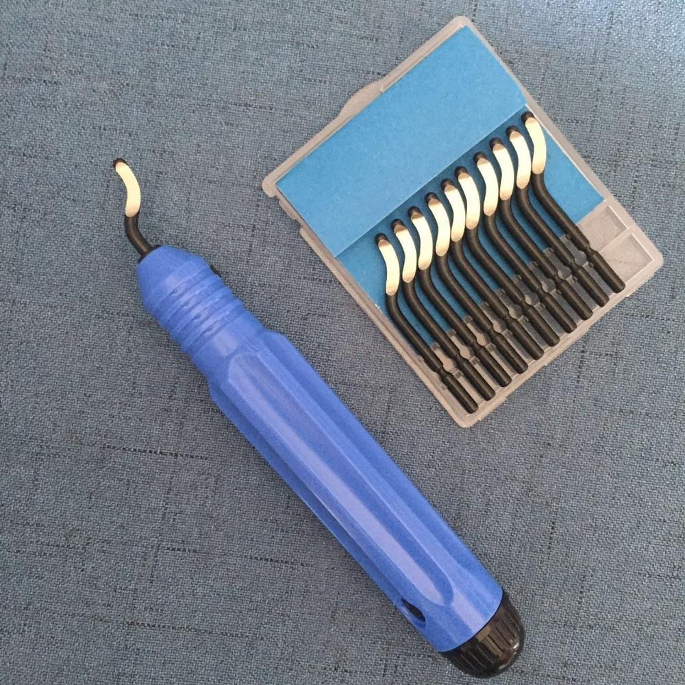 10 pcs  JFBL Hot sale High Quality Repair Part DeburRed Tool  10pcs BS1010 S10 +1pcs NB1100 DeburRing  tool Blades