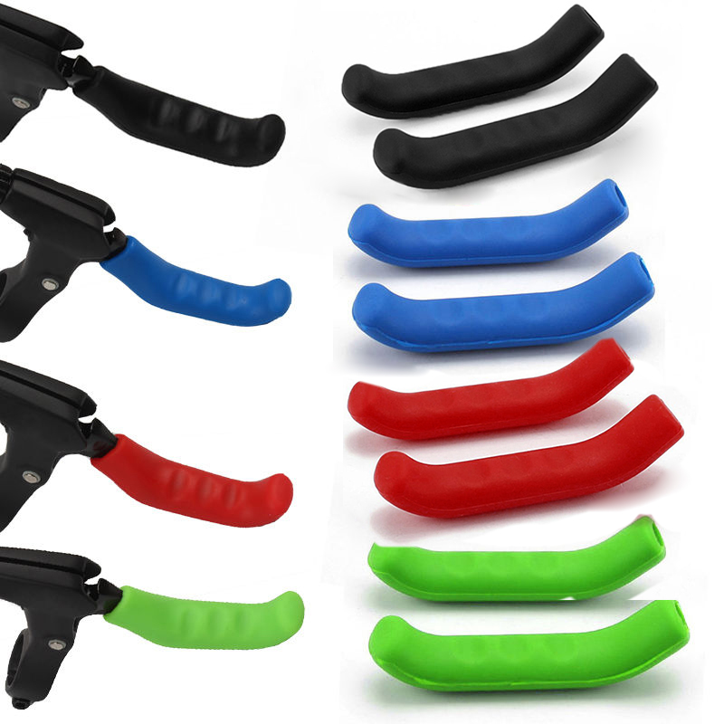 1Pair Accessories Bicycle Brake Lever Cover Multicolor Bike Handle Sleeve Best