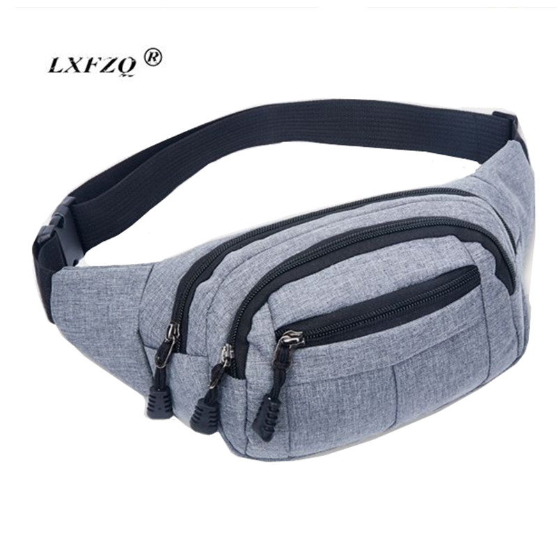 LXFZQ Fanny Pack Fashion NEW Waist Packs Heuptas Hip Bag Women's Waistband Banana Waist Bags Waist Bag Women Bolso Cintura(China)