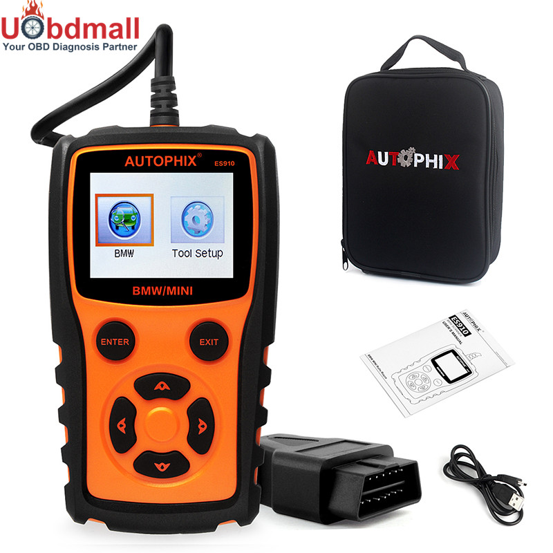 100% Original OBDMATE ES910 Diagnostic Tool For BMW MINI Auto Scan Work Cooper E46 E39 E36 E90 F10 F30 X5 ABS Airbag EPB Repair набор приспособлений для обслуживания грм двигателя bmw n12 mini cooper jonnesway al010079