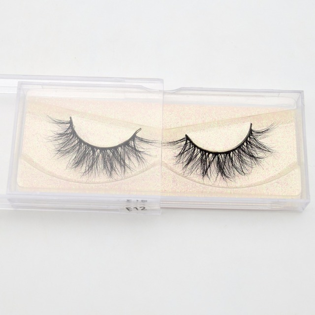 Mink Eyelashes Hand Made Crisscross False Eyelashes Cruelty Free Dramatic 3D Mink Lashes Long Lasting Faux Cils for Makeup Tools 5