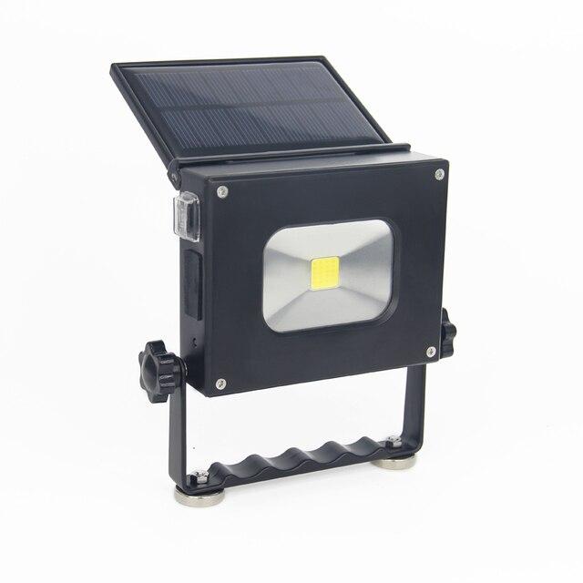 2pcs/lot 10W Solar Led Pocket Light Portable Camping Lantern ...
