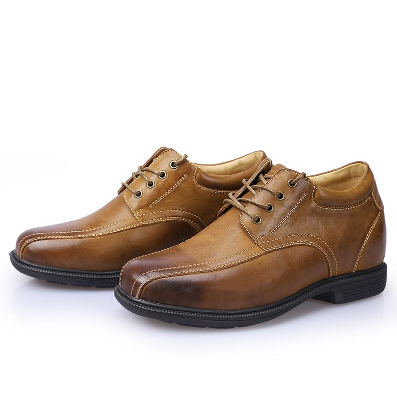 Acheter Hidden New Brand Semelle Casual Lift Chaussures Cuir En YYrw1Fq