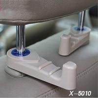 2pcs/lot Universal Cute Car Back Seat Headrest Hanger Holder Hook for Bag Purse Cloth Grocery Storage Auto Fastener Clip