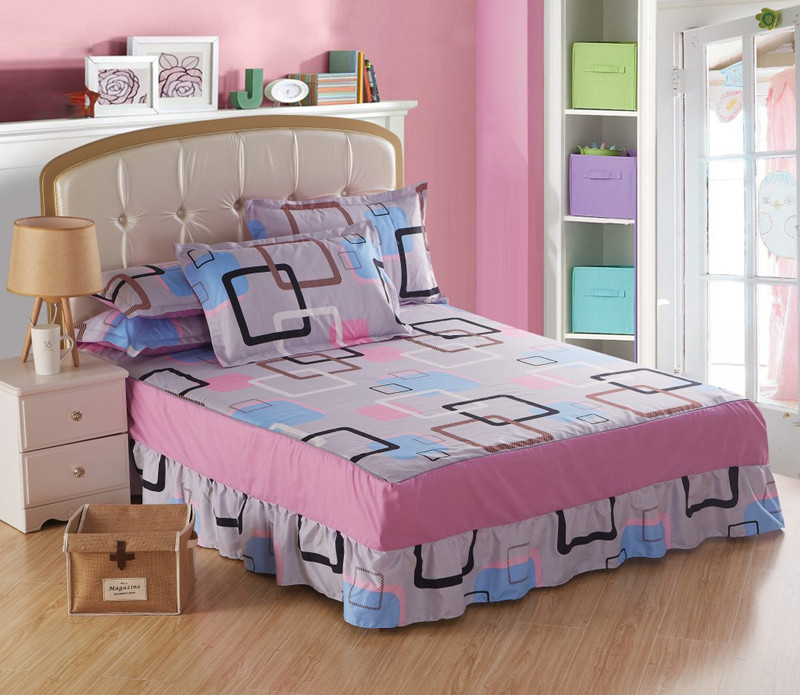 ٩^‿^۶bed Sets Bedspread Bed Skirt Mattress Protective Case Cover Awesome Protective Pillow Covers