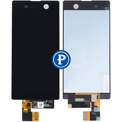 все цены на  For Sony Xperia M5 Complete LCD Screen with Digitizer touchpad Assembly  - Black OEM  онлайн
