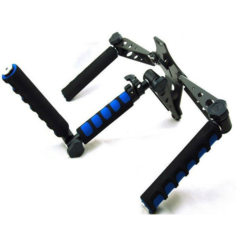 DSLR Rig Video Movie Kit Shoulder Stabilizer Mount holder for Film DV Camera Canon Sony Nikon Panasonic 5d mark iii 6d 7d d810 потребительские товары cs pro cs 1 dslr 6d canon 5d 3 7 d t3i d800 d7100 d3300 pb039