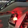 Caoku Cycling Rear Light Heart Taillight Bicycle Egg Light Warning Night Light Bike Accessory Heart Shape Design Waterproof