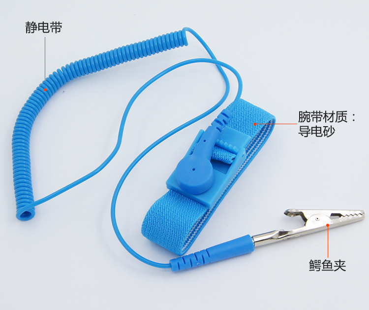 Power Tool Accessories Nice 498 Anti-static Wrist Strap Monitor Measurement Antistatic Wrist Strap Tester For Repair Work+ground Wire+esd Wrist Matching In Colour Hand & Power Tool Accessories