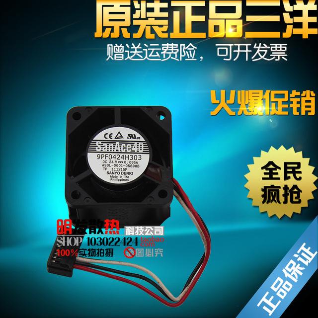 Original autêntico 4028 0.095A 24 V modelo 9PF0424H303 ventoinha à prova d' água