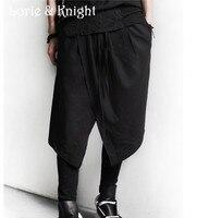 Japanese Harajuku Style Street Fashion Gothic Punk Skirt Pants Hip Hop Dancers Fashion Pants Free Shipping