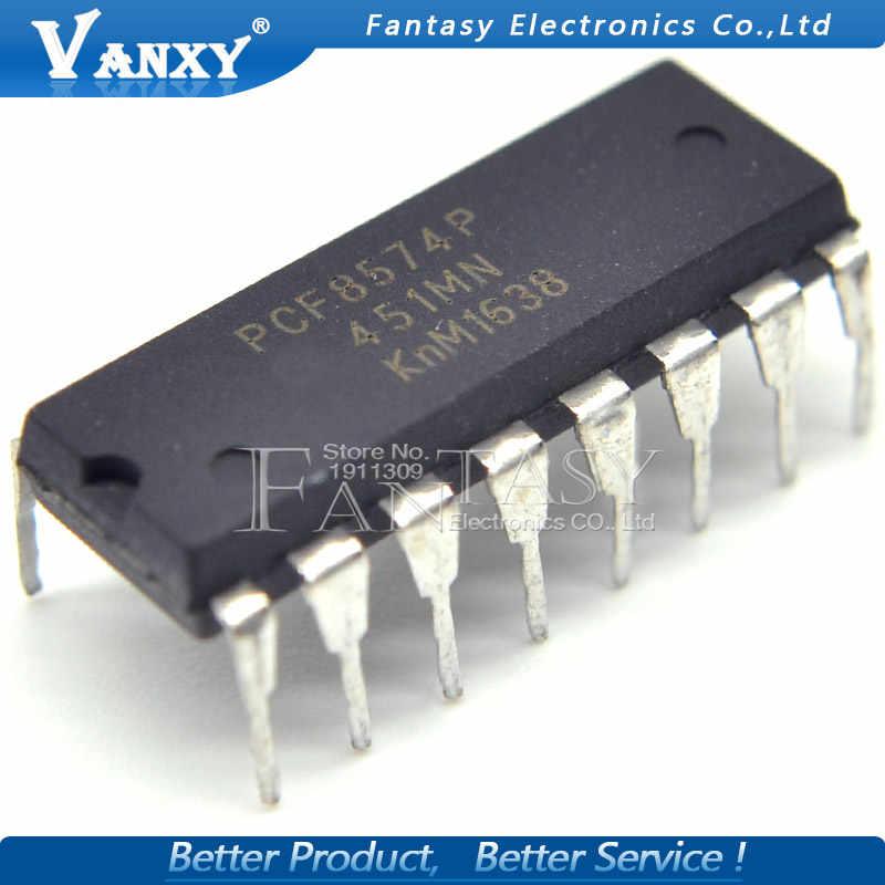 50 قطعة PCF8574P DIP16 PCF8574 DIP 8574P DIP-16 PCF8574AP جديدة ومبتكرة IC