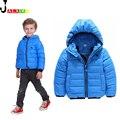 Winter Kids Jacket 2016 New Arrival Boys & Girls Cotton Solid Warm Jackets Kids Turtleneck Girl Jacket Autumn Coats For Children