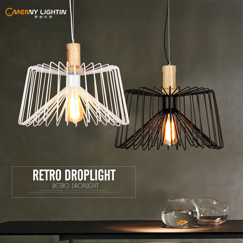 40cm The pendant light creative personality of iron spider fashion art Restaurant Bar Cafe loft industrial wind FG669 retro cafe bar long spider lamp loft light industrial creative office the heavenly maids scatter blossoms chandelier