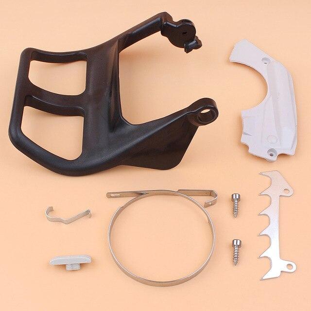 Front Griff Brems Band Abdeckung Stoßstange Spike Kit Für STIHL MS210 MS230 MS250 021 023 025 MS 250 230 210 kettensäge Gas Sägen