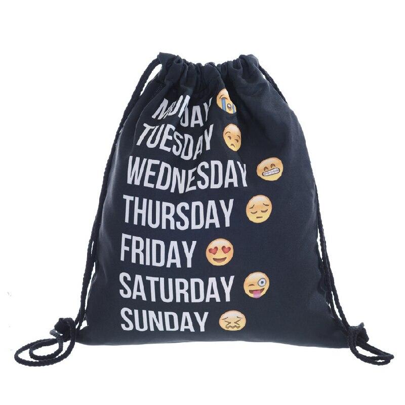 MAKORSTER Summer European American Style Waterproof Backpack Beach Drawstring Bag Cute Rucksacks for girls backpacks XH253 mizuno wave paradox 2 mizuno mznj1gc1540