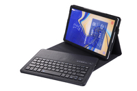 Litchi Leather Smart Case with Detachable Bluetooth Keyboard for Samsung Galaxy Tab S4 10.5 2018 T830 T835 Tablet + Stylus