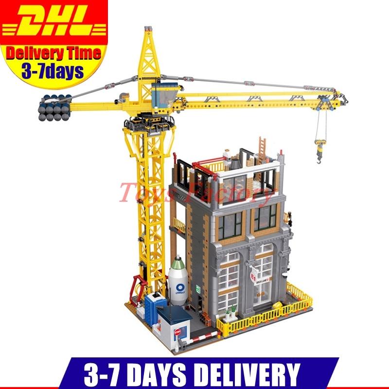 2018 DHL Лепин 15031 4425 шт. натуральная MOC серии классический строительной площадке строительные блоки кирпичи игрушки модель рождественские под