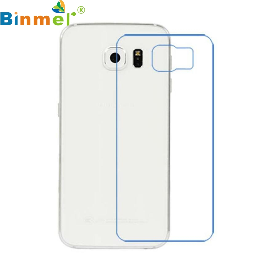 Factory Price Binmer Front + Back Clear Film LCD Screen Protection For Samsung Galaxy S6 G9200 J08T
