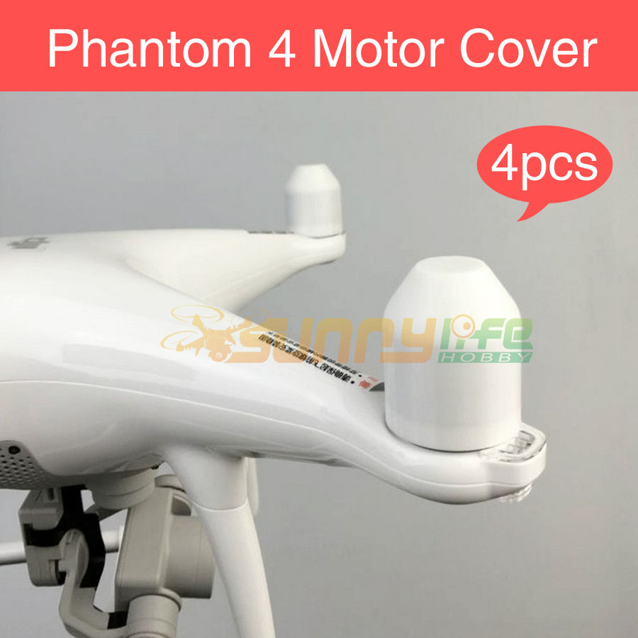 4pcs/set Phantom 4 Motor Cover Protector Guard Cap 3D Printed Accessories for DJI Phantom4