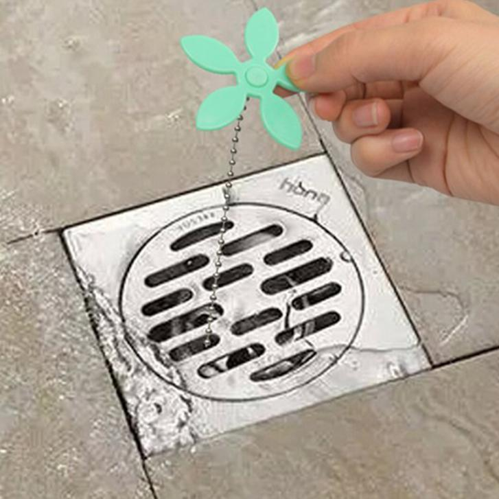 bathroom hair sewer filter drain outlet kitchen sink filter strainer drain cleaners anti clogging floor wig - Kitchen Sink Filter