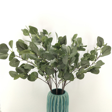 Plant Simulation Flower Eucalyptus Leaves Money Leaf Ginkgo Home Office Garden Decoration Indoor and Outdoor