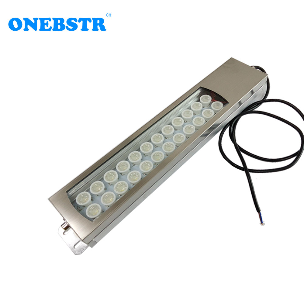 HNTD 60W 24V 220V TD44 Led Metal Panel Light CNC Machine Tool Waterproof Explosion proof Led