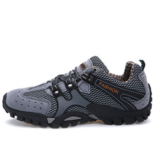 new hot sell men breathable casual shoes low top flat trekking climbing trainers shoes mens flats shoes big plus large size 322v