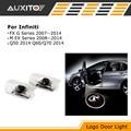 LED Car Door Logo Ghost Shadow projector Light For Infiniti FX35 fx37 g37 qx50 qx70 qx80 q60 q70 ex35 q50 f50 g35
