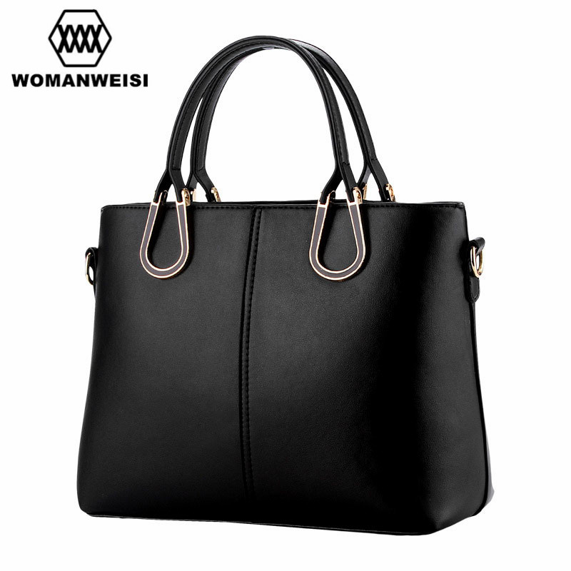 ФОТО 2017 New Design Solid Luxury Leisure Business Women Briefcase 8 Candy Color PU Leather Women Handbags Klatch Shoulder Bag Tas