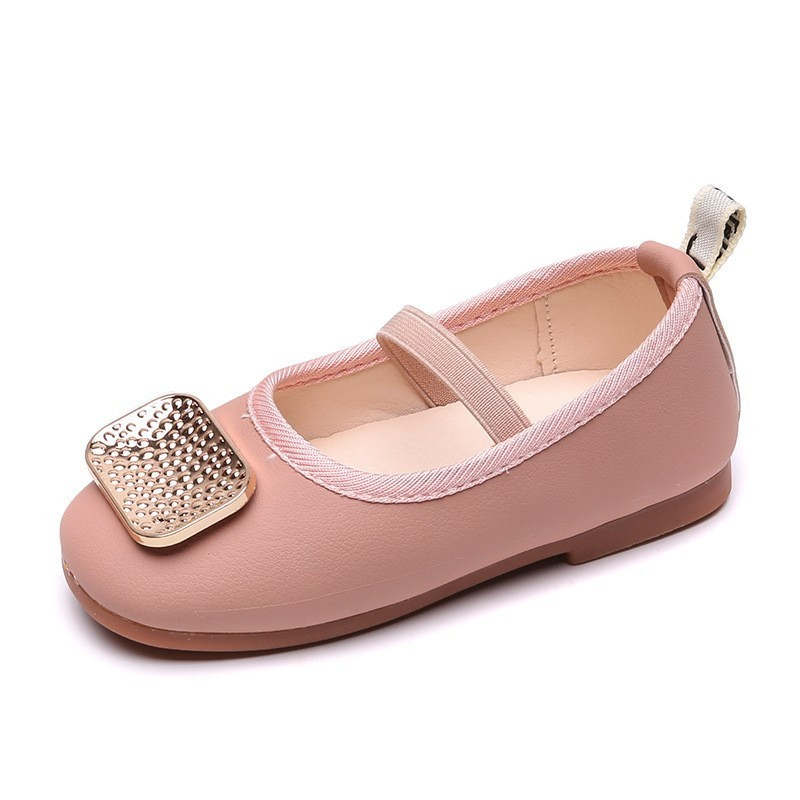 CNFSN 2019 New Spring Autumn Slip On Loafer Boys Fashion Rivet Flat Baby Girls Pu Leather Shoes Children Brand Kids Sneakers