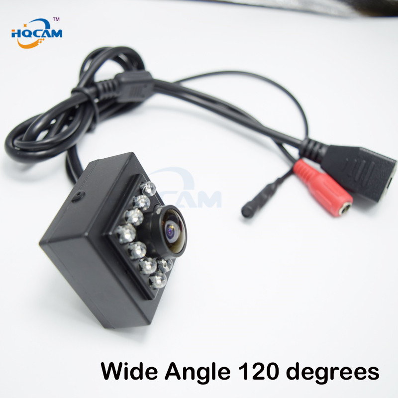 HQCAM 960P MINI IR CAMERA IR CUT Night Vision Camera Ip Network P2P Camera 10Pcs Invisible 940nm Leds Wide Angle 120 degrees цены онлайн