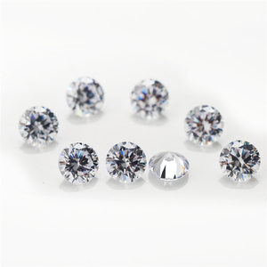 Image 2 - 5000pcs 1A 0.8~3mm  white loose cubic zirconia stones bead round cut loose cubic zircon stone