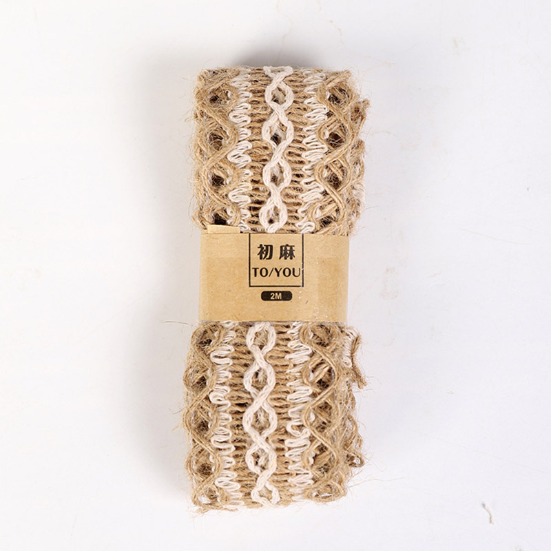 HTB1bWe7atjvK1RjSspiq6AEqXXap 2M/Roll Natural Party Crafts Wedding Ribbon Gift Warrping Hemp Ribbon Jute Burlap DIY Festival Supplies Festival Decoration