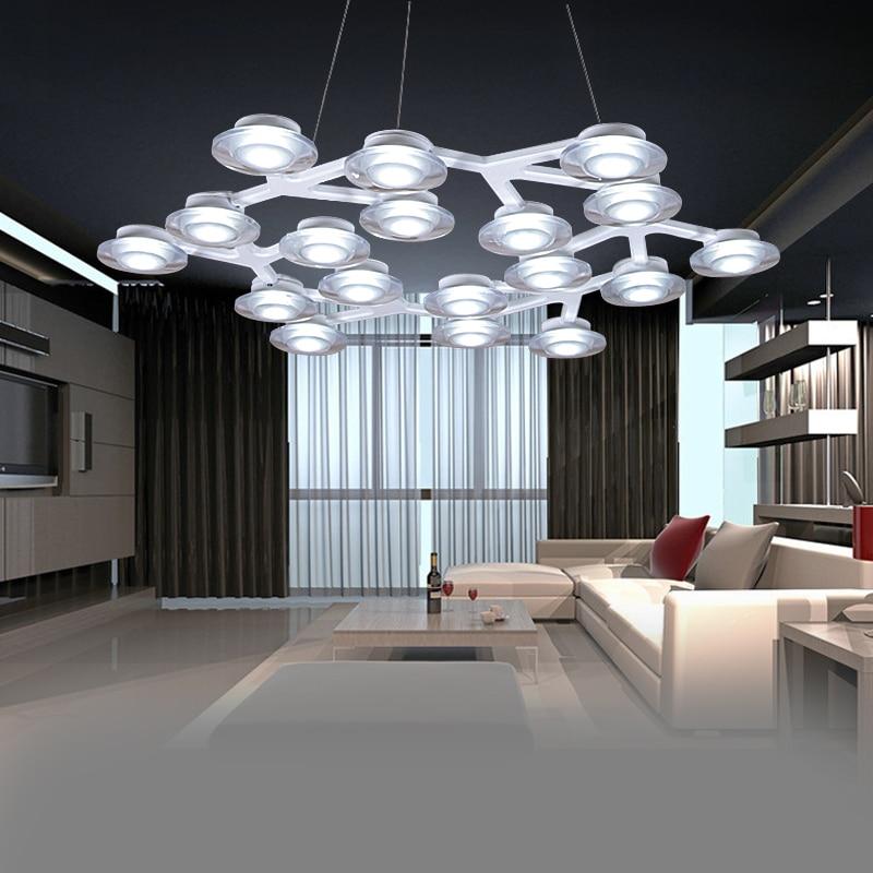 Moderne Home-Deco-Wohnzimmer minimalistischen LED-Baum Deckenleuchte - Innenbeleuchtung - Foto 2