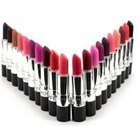 2016 4Color Waterproof Long Lasting Lip Gloss Vampire Style Makeup Purple Gold Black Red Lipstick Matte