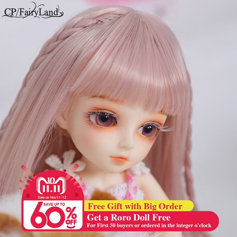 OUENEIFS Pukifee Rin Basic bjd sd doll 1/8 body model baby girls boys dolls eyes High Quality toys shop bjd pukifee rin basic two face and ears aoaomeow