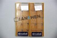 Mitsubishi 10 pçs/lote TCGT060102L-F NX2525 CNC inserções  Moinho de Cara Ferramentas de Torno CNC de corte ferramenta