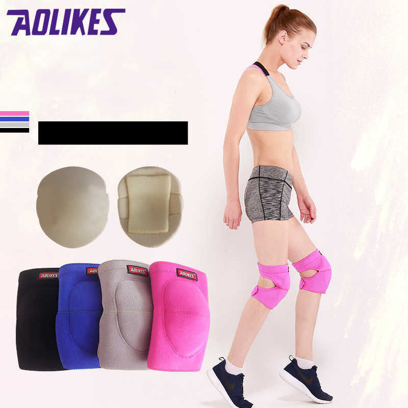 Outdoor Sport Fitness Knee Pads Basketball Dancing Kneecap Support Patella Guards Gym Protector Shock Absorption For Men Women
