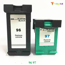 For HP 96 97 Ink Cartridges For HP96 PhotoSmart 8100 8450 2610 2710 5740 8750 9800 9860 printer мужские часы casio g 8900sc 4e