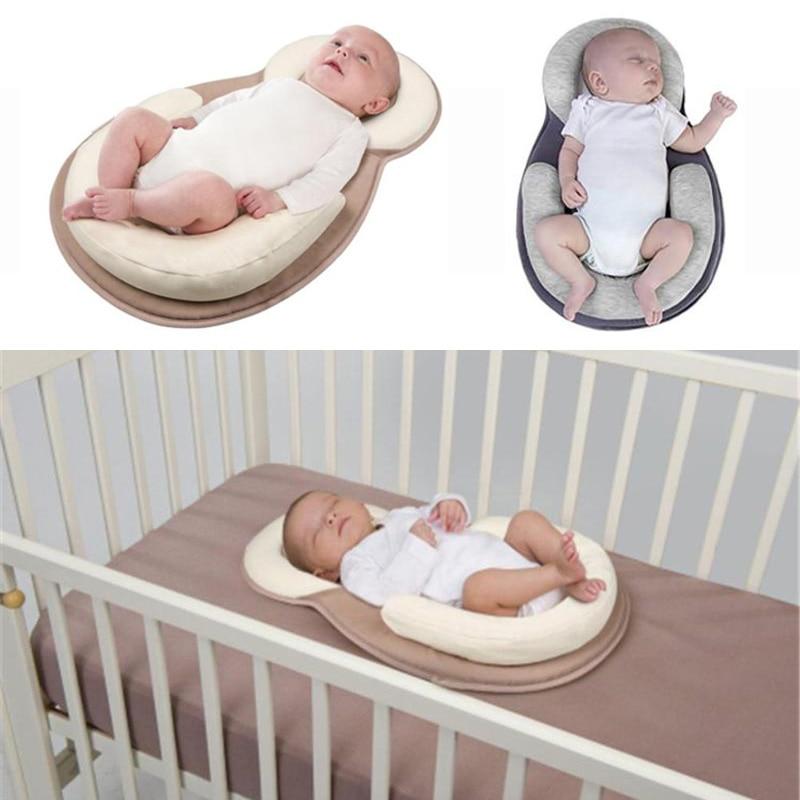 93b67f1fb Portátil bebé almohada de cuna de viaje bebé plegable colchón de la cama  Infantil Niño cuna multifunción bolsa de almacenamiento para el cuidado del  bebé